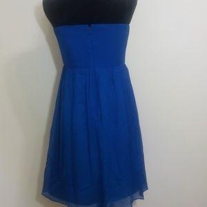 J. Crew Dresses - J. Crew Taryn Dress Silk Chiffon Blue Size 14